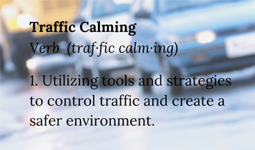 traffic-calming definition
