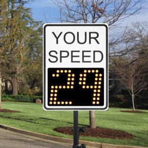 Speed Patrol Sign