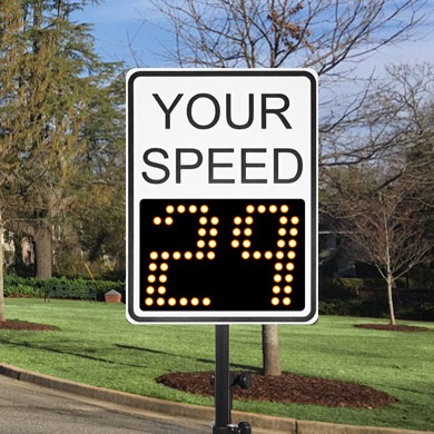 Speed Patrol Sign