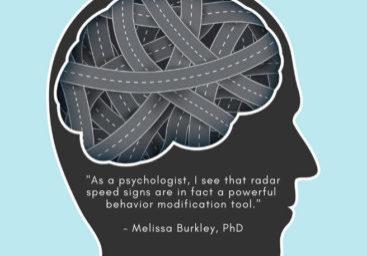 radar speed signs modify behavior